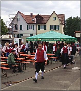 Beer garden in Tubingen, Germany, House sitting around the world.