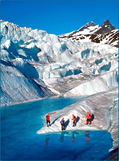Glacier Trekking Juneau Alaska.