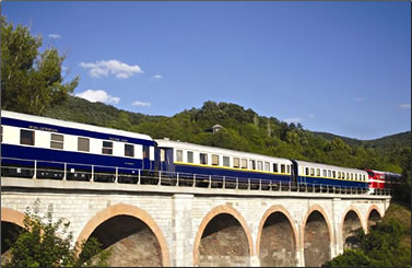 Jewels of Persia luxury train journey, Golden Eagle Danube Express.