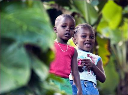 Grenada children, Grenada affordable holiday accommodation.
