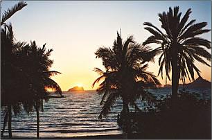 Sea of Cortez sunset.