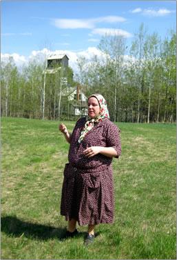 Alberta's Ukrainian Cultural Heritage Village.