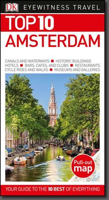 DK Eyewitness guidebook, Top 10 Amsterdam.