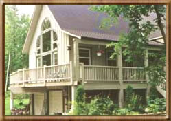 House swap in Ontario, Canada.