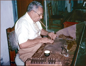 Cuban cigar making is educational for senior travelers.
