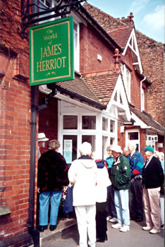 James Herriott home and museum, England.
