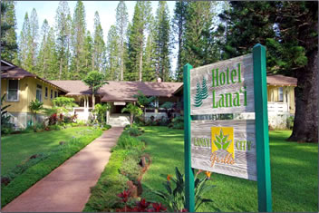 Hotel Lanai is a historic plantation guest house on Lanai, Hawaii.