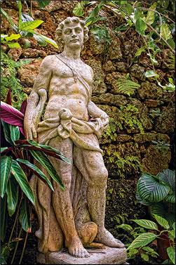 Hunte's Gardens, Barbados: Caribbean gardens photos.