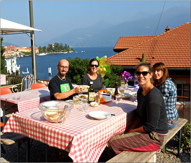 Italy Lake Como hostel, Menaggio Youth Hostel, Best Hostels for Food.