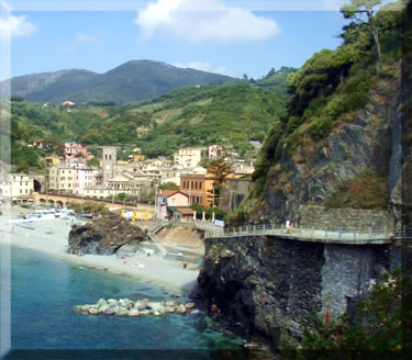 Village of Monterosso in Cinque Terre National Park, Italy.