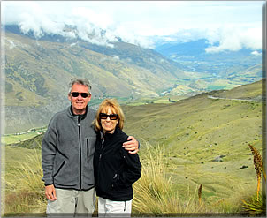 Angela and John Laws: retirement travel through house sitting.