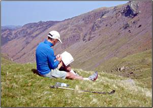 Dr Steve Sullivan recounts his 15-day Coast to Coast Walk across a skinny part of England.