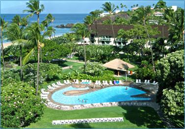 Maui's Kaanapali Beach Hotel.