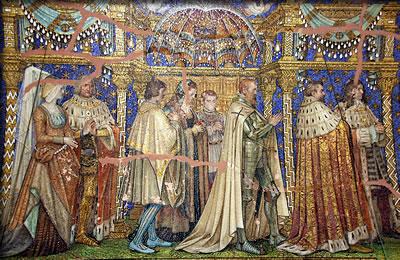 Mosaics from Berlin's Kaiser Wilhelm Memorial Church.