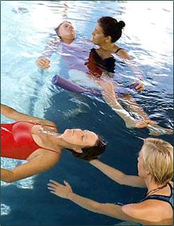 Watsu water massage is one option for Hawaii spas and retreats.