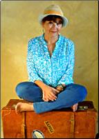 Karen McCann, travel book author.
