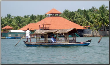 Kerala India backwaters cruises.