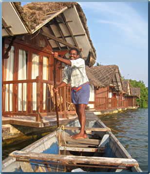 Kerala canoe village tours, birding tours and sunset tours.