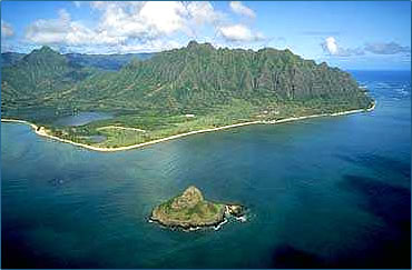 Kualoa Ranch on Oahu is full of Hawaiian Islands wildlife and history.