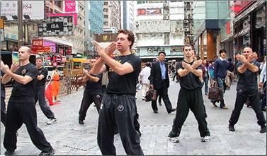 Hong Kong cycling and Kung Fu tours.