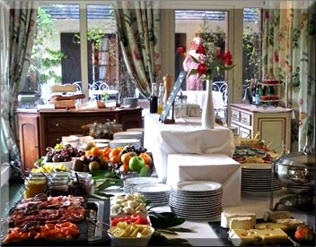 La Briqueterie luxury country inn: stay in Champagne region of France.
