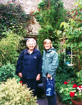 Historic cottages and flourishing gardens are part of Sierra Club walking tours in Great Britain.