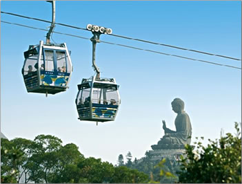 Hong Kong eco-tour to Lantau Island.