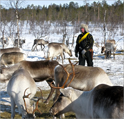 Lapland Finland active adventure travel, winter vacations in Finland's north