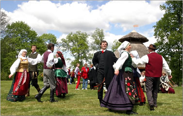 Lithuania cultural country holiday in Europe.