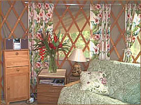 Comfortable retreat accommodation is part of Hawaii spas and retreats vacations.