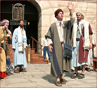 Passion Play Alberta, Alberta Tourism, Drumheller Badlands Passion Play