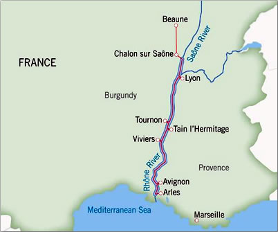 France River Cruising Travel With A Challenge