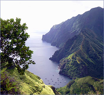Marquesas Islands freighter cruise, senior travel, Tahiti holidays, Tahiti cruise.
