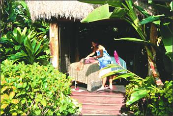 Hawaiian Islands health and wellness holidays have Hawaiian flavor.