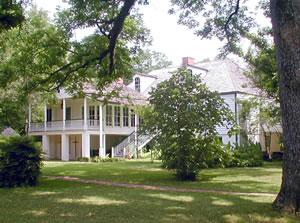 Melrose Plantation symbolizes Creole heritage in Louisiana.