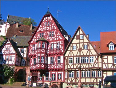 Miltenberg is on the route of a 12-day river cruise from Amsterdam to Vienna using the world's most modern locks.