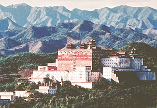 Tibetan temple and palace complex in Chengde city.