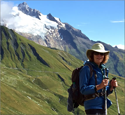 Article by MaryAnn Gerst about trekking the Tour du Mont Blanc in the Alps.