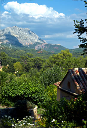 Mont Sainte-Victoire, France Artists Driving Route in Provence: Cézanne and Picasso.