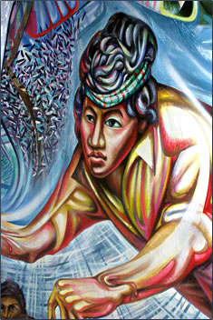 Living in nicaragua travel with a challenge for Mural nicaraguense