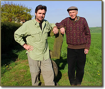 Travel writer, Bruce Northam, plans family travel with Mom in Ireland, English walking holidays with Dad.