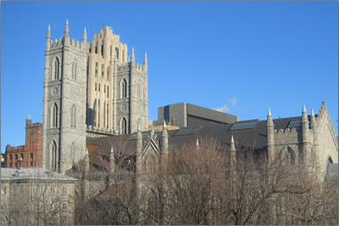 Notre-Dame Basilica, Montreal, Quebec.