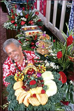 On Maui, Hawaiian culture and story telling at Kaanapali Beach Hotel.