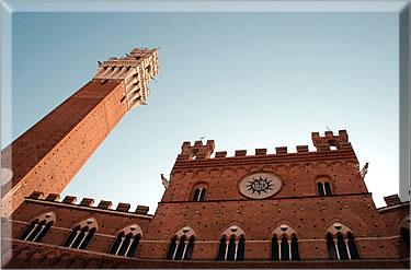 Siena, Italy's Palazzo Pubblico.