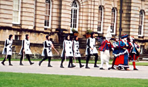 Castle Howard, England visited on Elderhostel study tour.