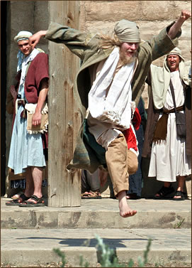 Passion Play Alberta, Alberta Tourism, Drumheller Badlands Passion Play.