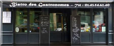 Bistro des Gastronomes is among the top restaurants in Paris's Latin Quarter.