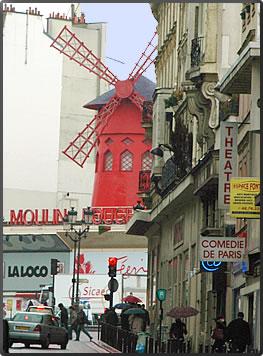 Moulin Rouge, Cultural Tours Paris France.