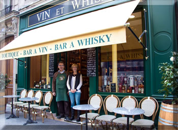 Vin et Whisky is a wine and whisky shop and bar in Paris.