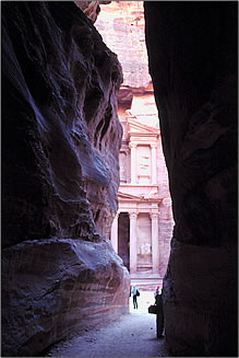 Petra, Jordan archaeology.